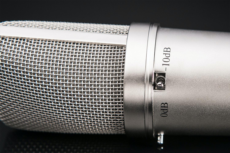 MXL 2010 Multi Pattern Recording Microphone