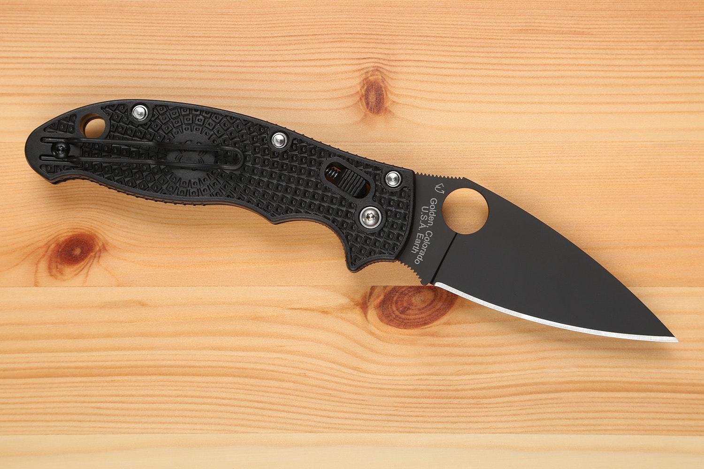 Spyderco Manix 2 Lightweight Black Blade