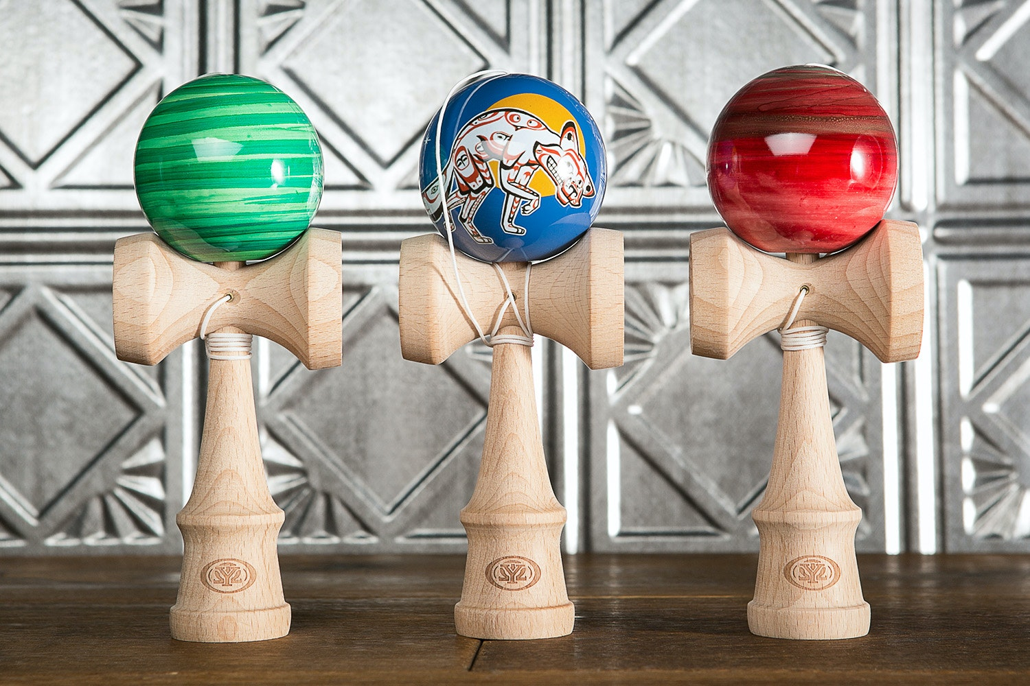 Yomega Coyote Kendama (3-Pack)