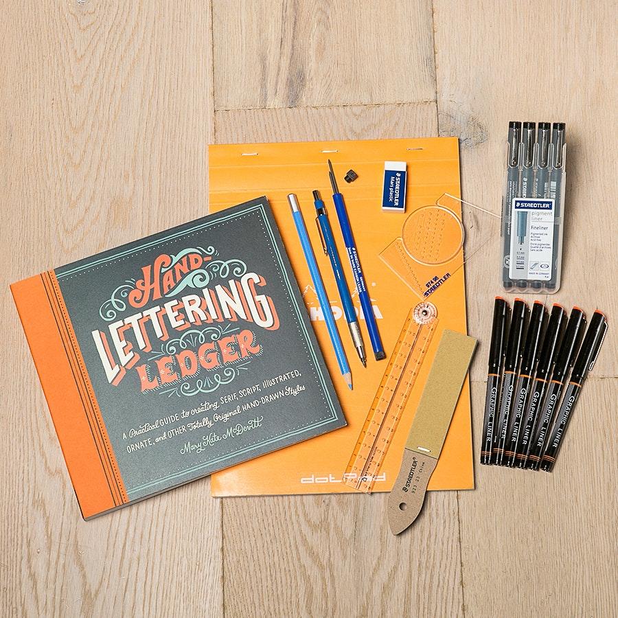 Hand-Lettering Starter Set