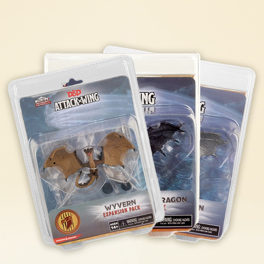 D&D Attack Wing Expansions Bundle