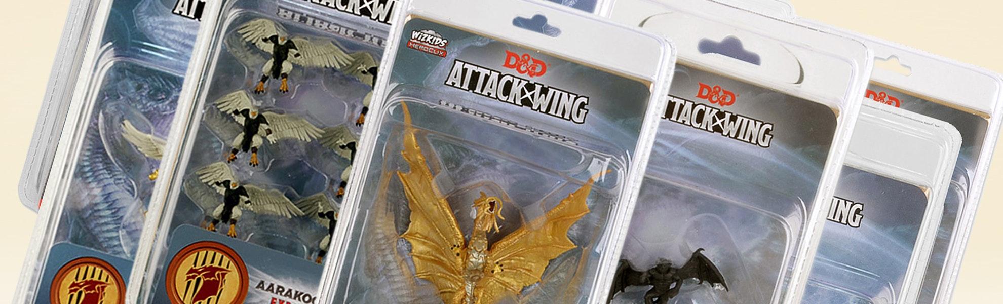 D&D Attack Wing Expansions Bundle