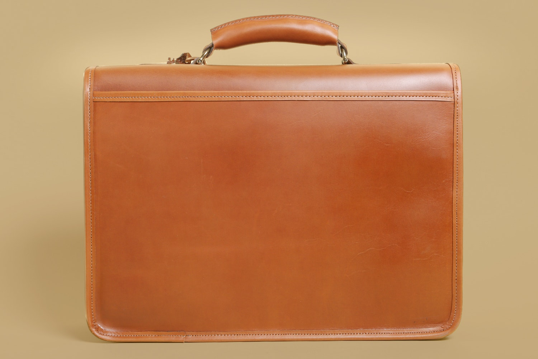 Custom Hide Briefcase