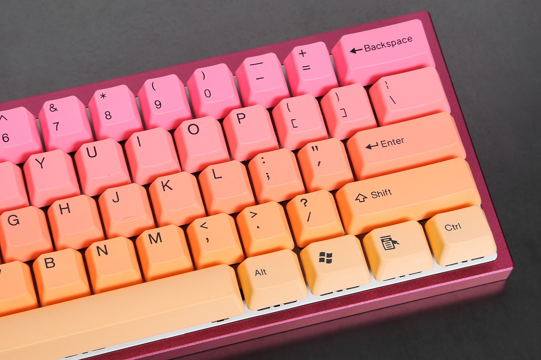 Tai-Hao Sunshine PBT Doubleshot Keycap Set