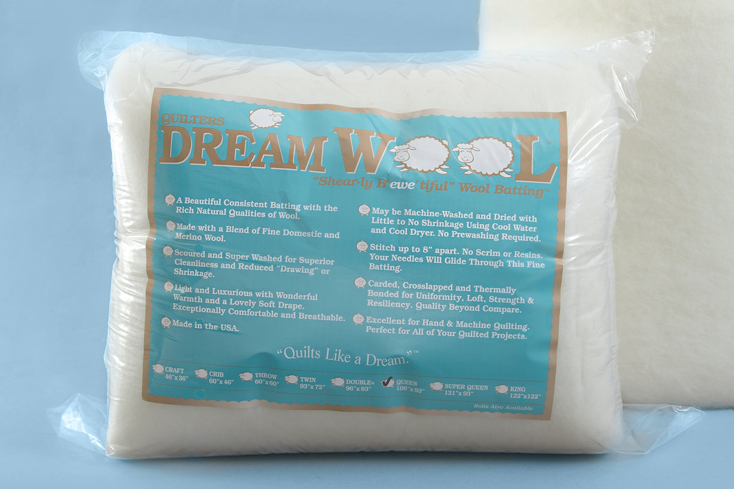 Quilters Dream Wool Batting Bundle