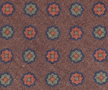 B10 - large scale motif on brown