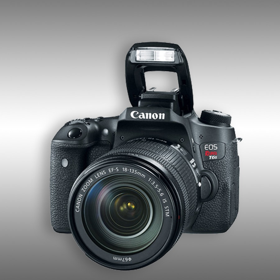 Canon EOS Rebel T6s DSLR w EF-S 18-135mm Kit