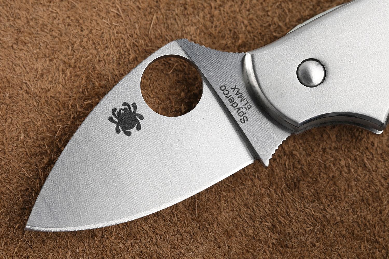 Spyderco Squeak Slipjoint Knife w/ELMAX Blade