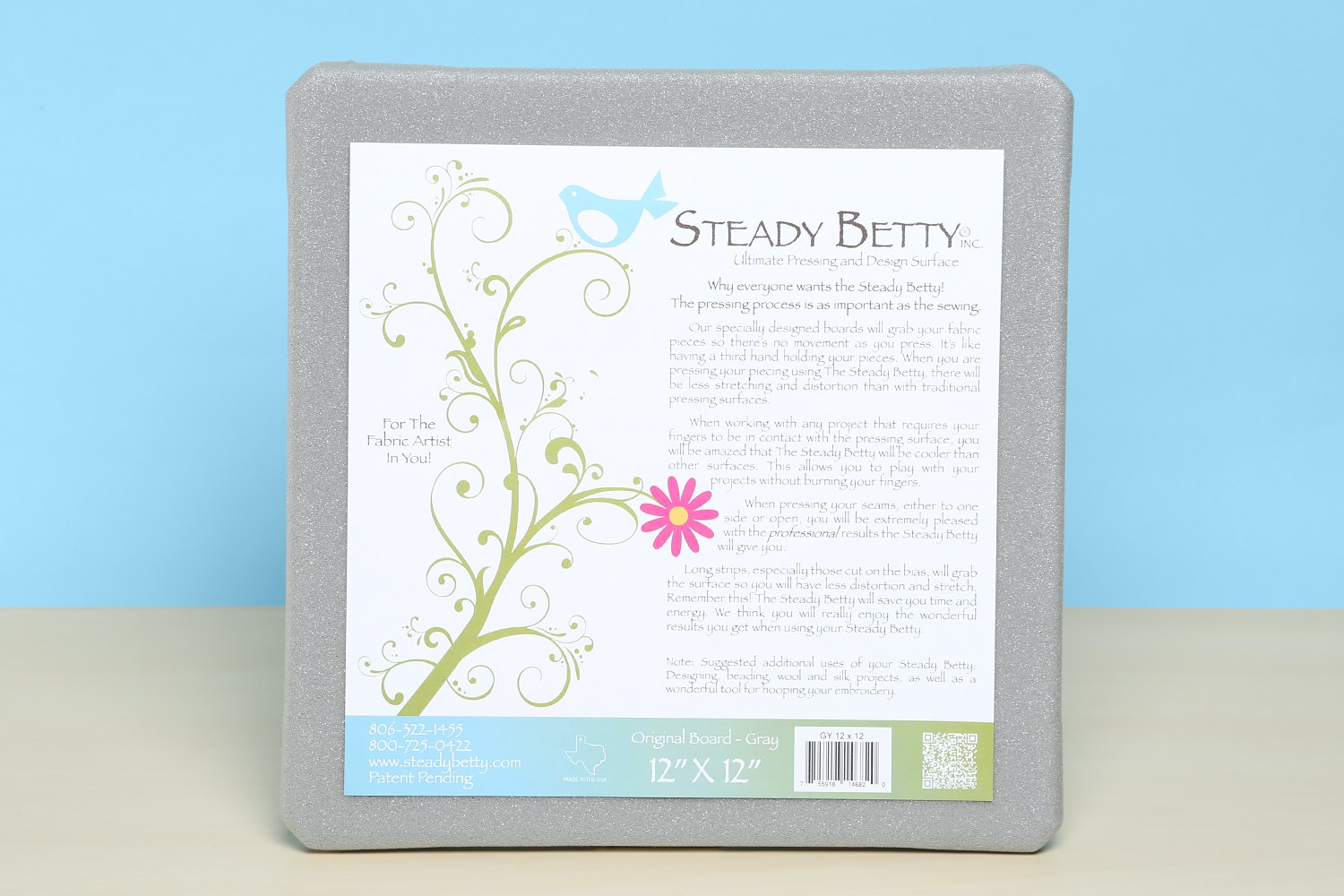 Steady Betty Pressing Mat and Design Surface
