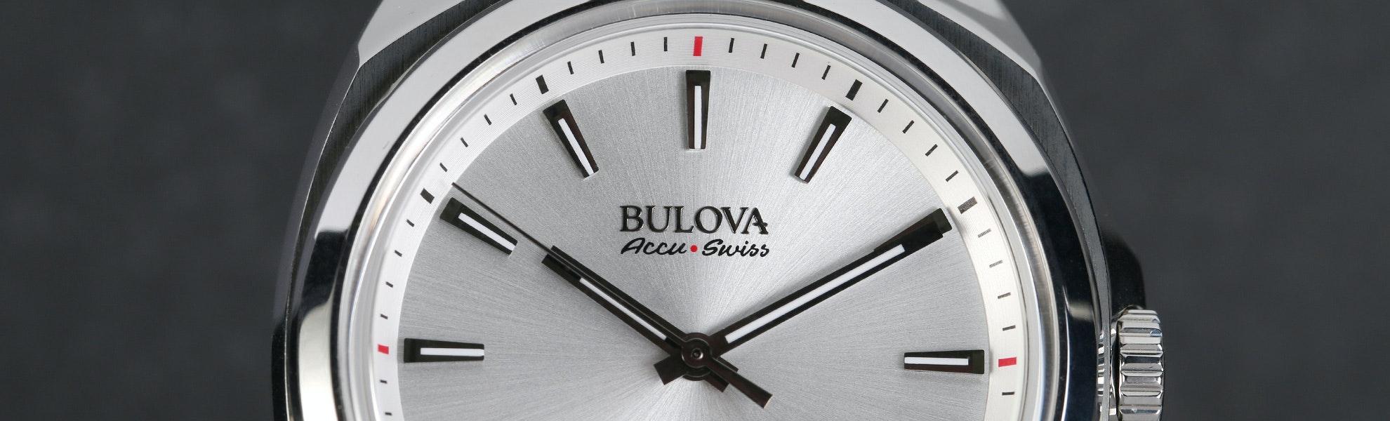 Bulova AccuSwiss Telc Watch