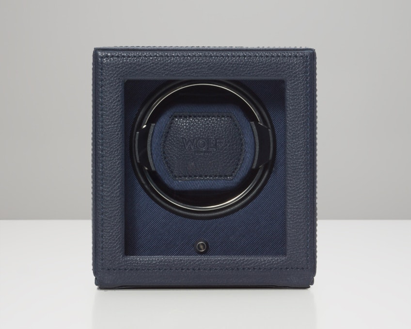 Navy Single Winder with Cover