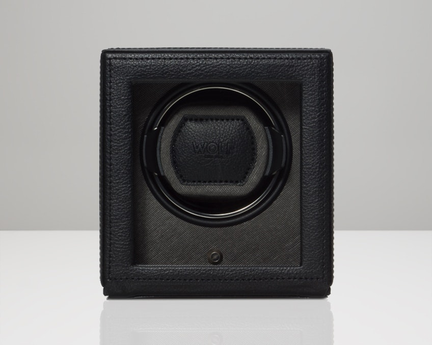 Black Single Winder with Cover