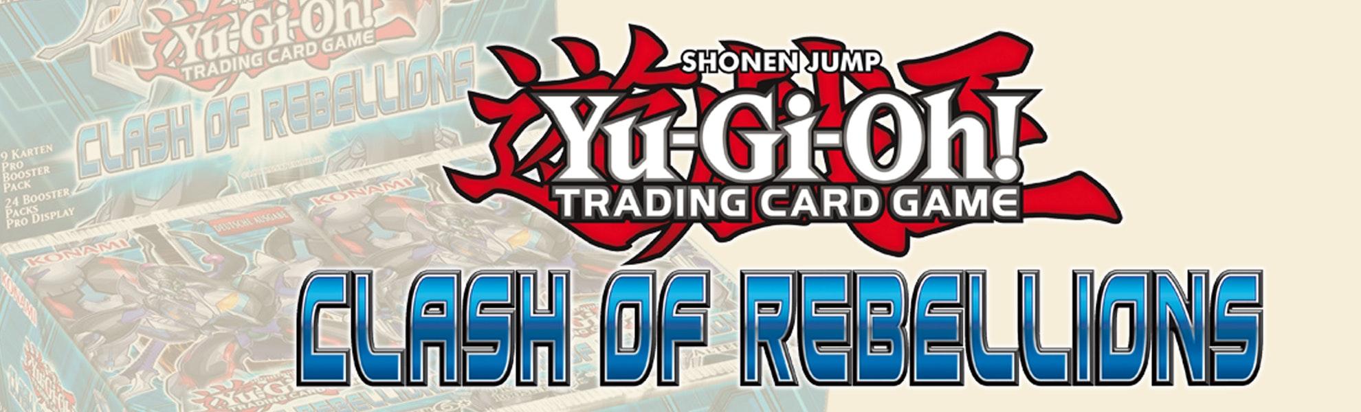Yu-Gi-Oh! Clash of Rebellions Booster Box