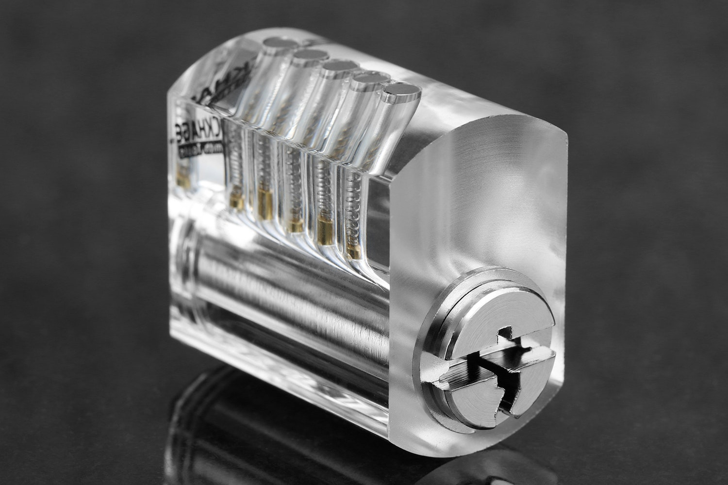 Brockhage Clear Practice Lock