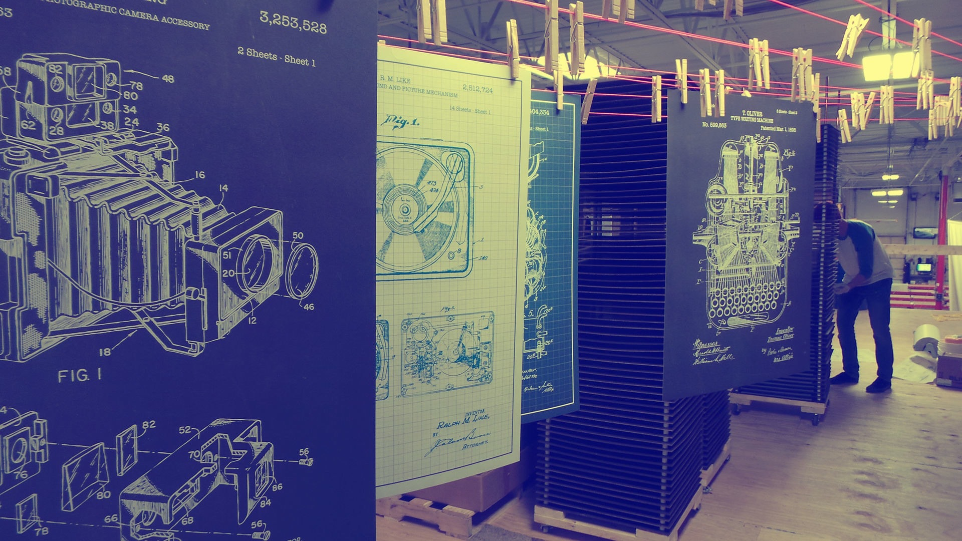Inked and Screened Firearm Prints