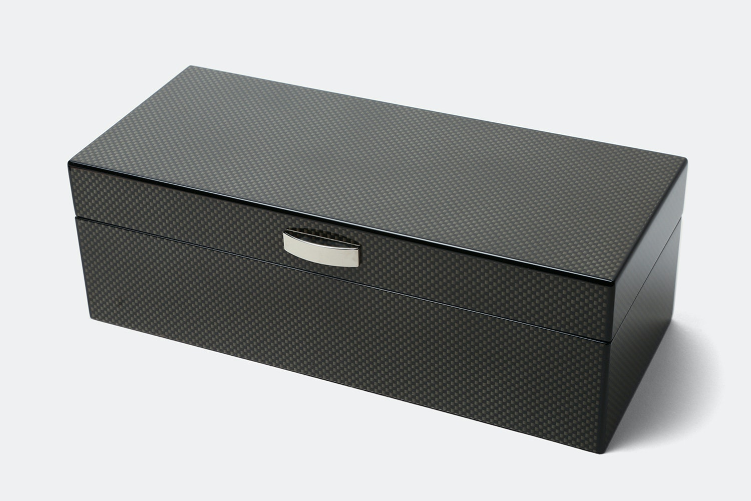 3 Watch Box with Lift out Valet | Carbon Fiber (- $12)