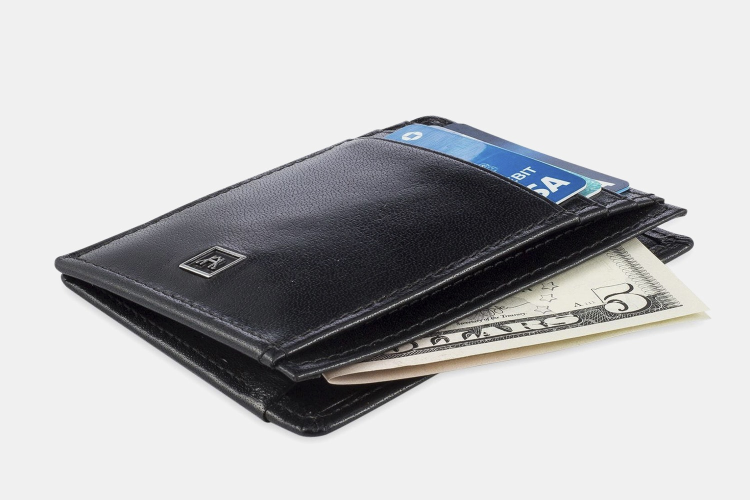 A&H Leather Front Pocket Wallet