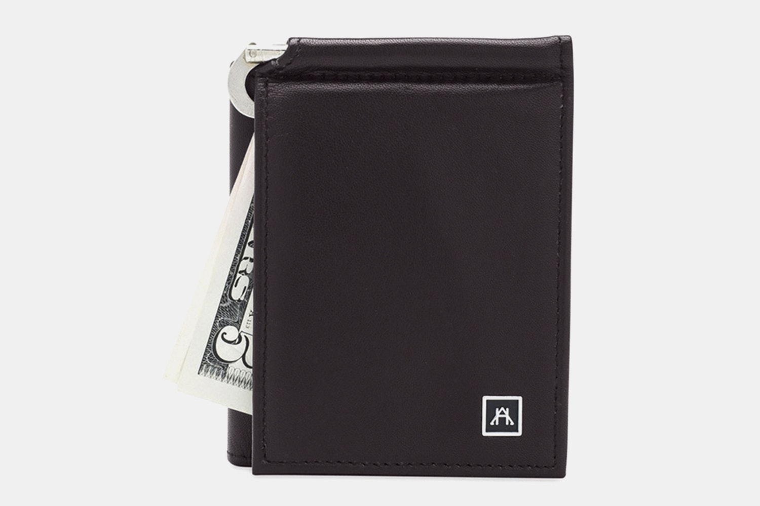 Money Clip Wallet - Lamb Skin Nappa - Brown (+$4)