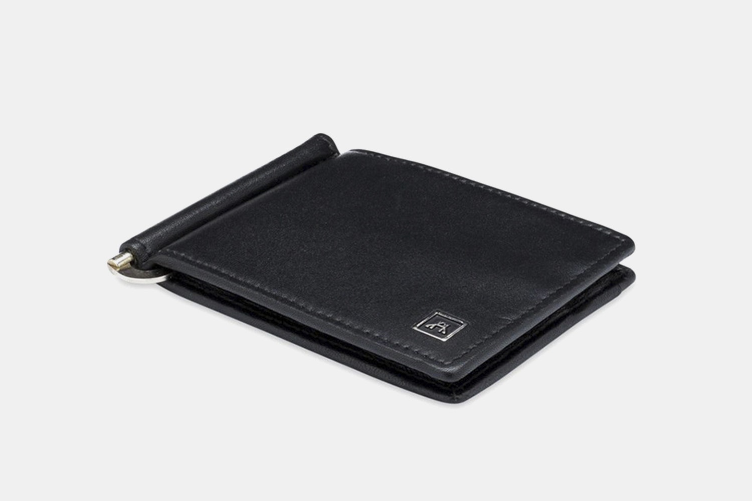 Money Clip - Lamb Skin Nappa - Black