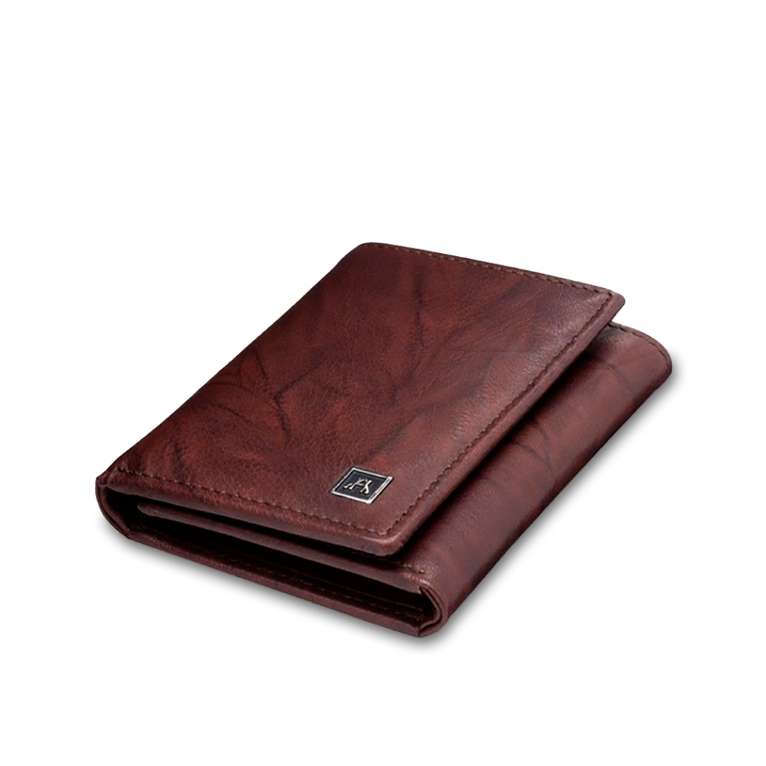 A&H Leather Goods Threefold Wallet