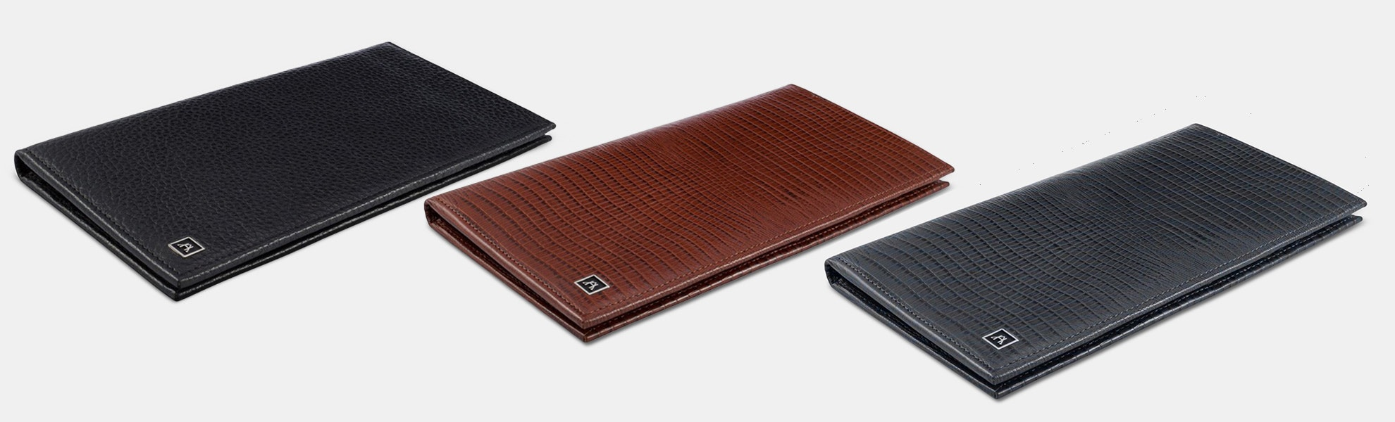 A&H Leather Passport Wallet (New Colors)
