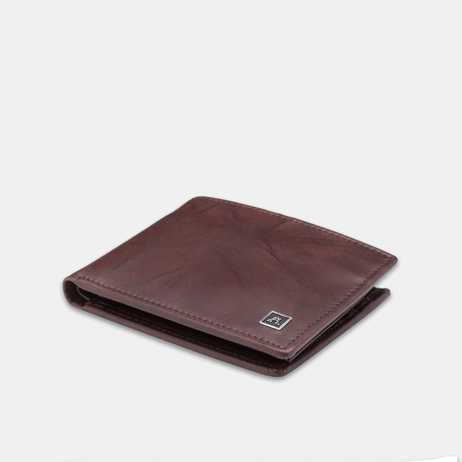 A & H Leather Removable ID Wallet
