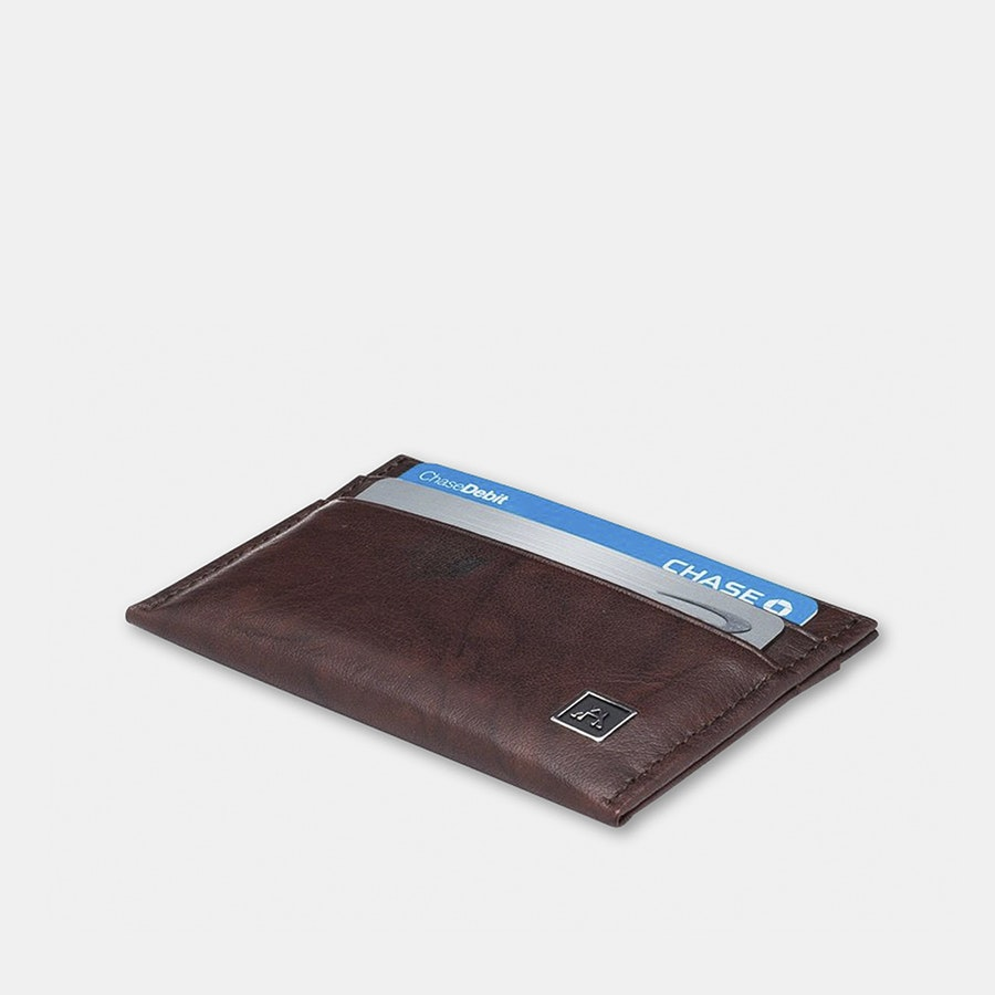 A&H Leather RFID-Protected Minimalist Wallet