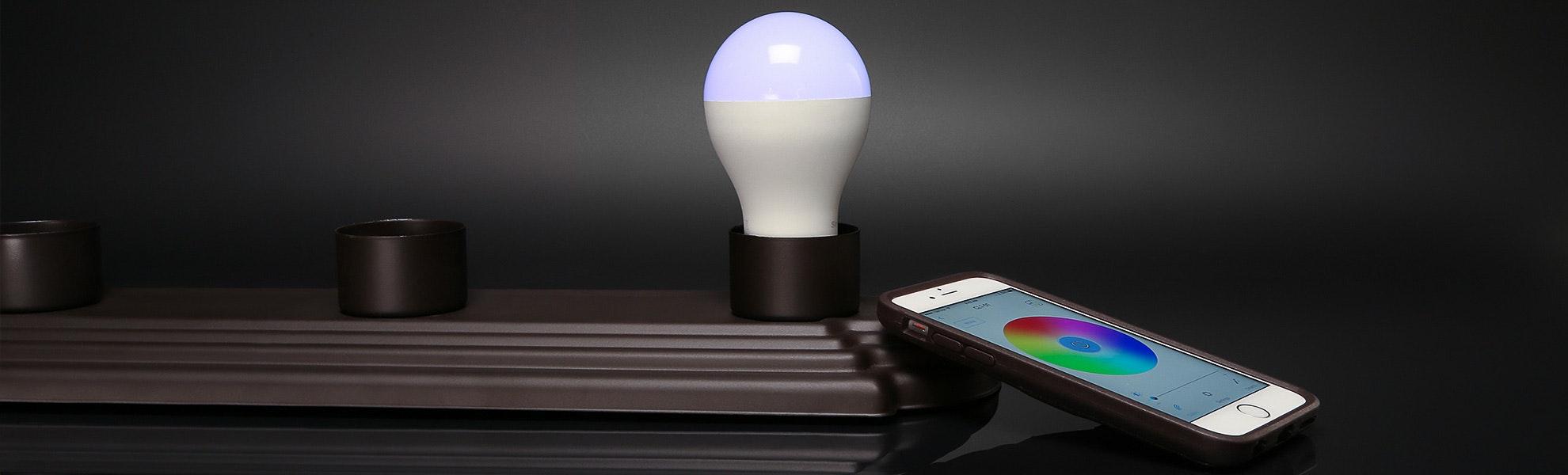 A19 Smart LED RGB Bluetooth Light Bulb