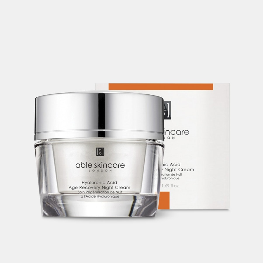 Able Hyaluronic Acid Age Recovery Night Cream