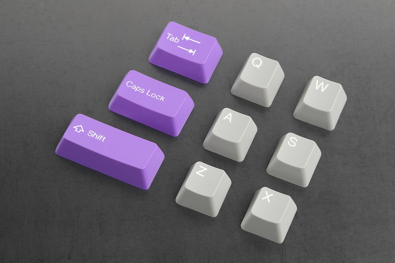 Royal Purple/Gray