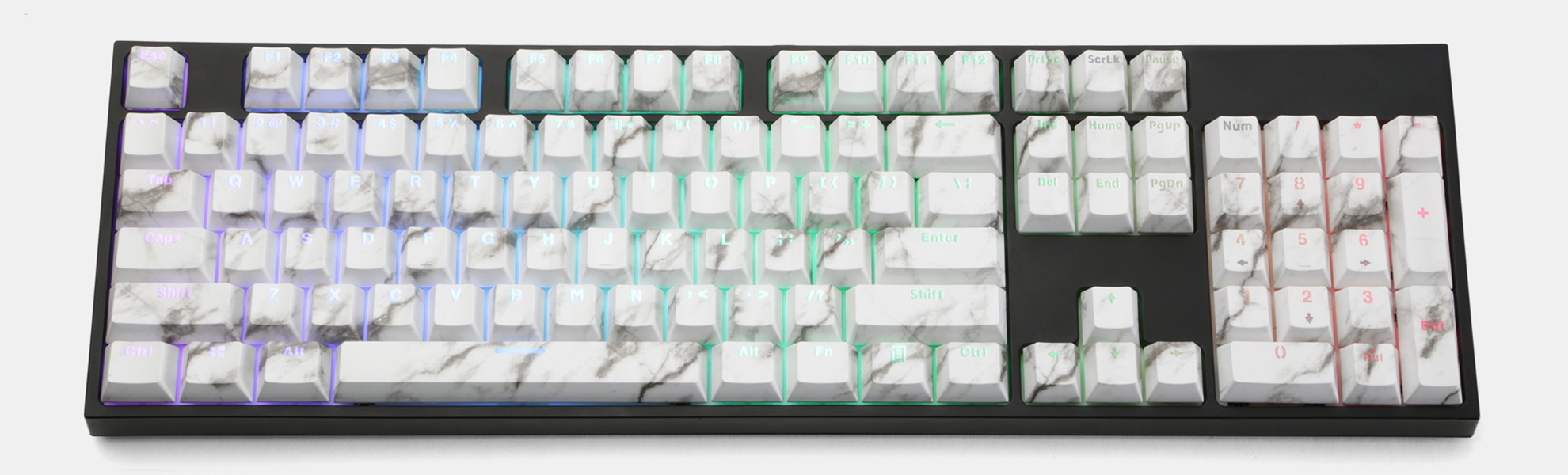 ABS Shine-Through Backlit Keycap Set