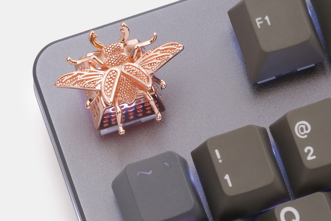 ABYSS Alloy Beetle Artisan Keycap