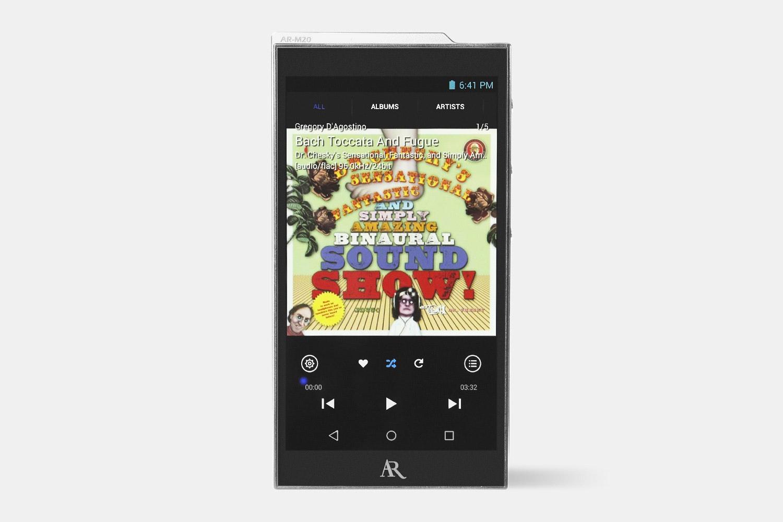 Acoustic Research AR-M20 & M2 Digital Audio Players