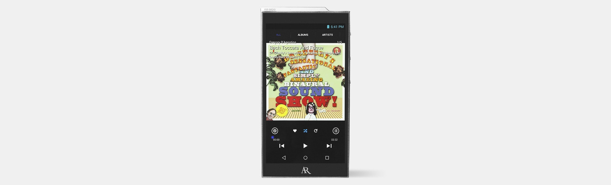 Acoustic Research AR-M20 & M2 Digital Audio Players
