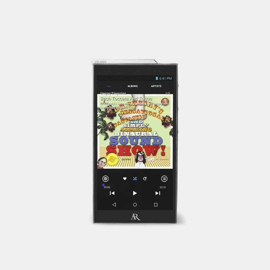Acoustic Research AR-M20 Digital Audio Player