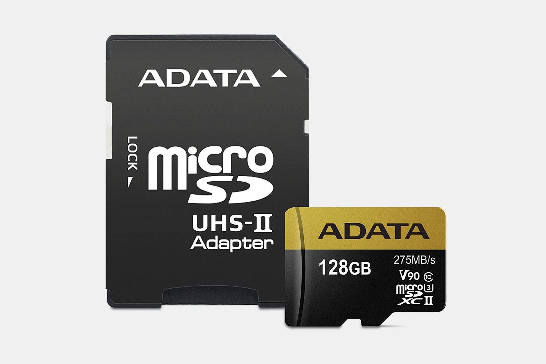 Adata MicroSDXC UHS-II U3 Class 10 (275MB/s)