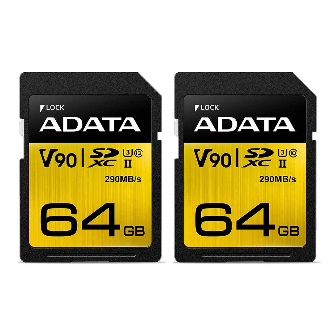ADATA Premier ONE UHS-II Class 10 Memory Cards