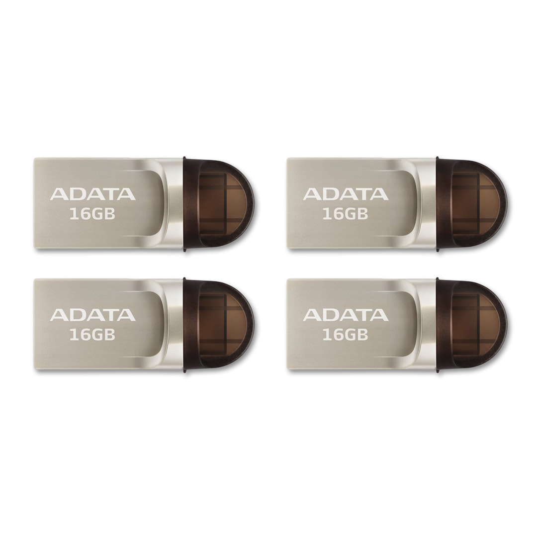 ADATA UC370 USB 3.1/USB-C Flash Drive (Multi-Pack)