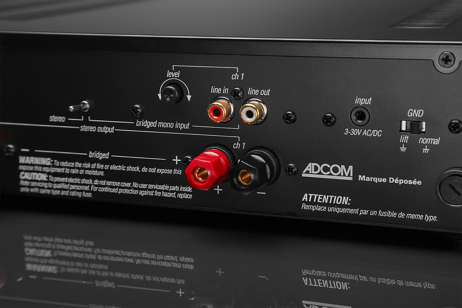 Adcom GFA-6002 Stereo Power Amplifier