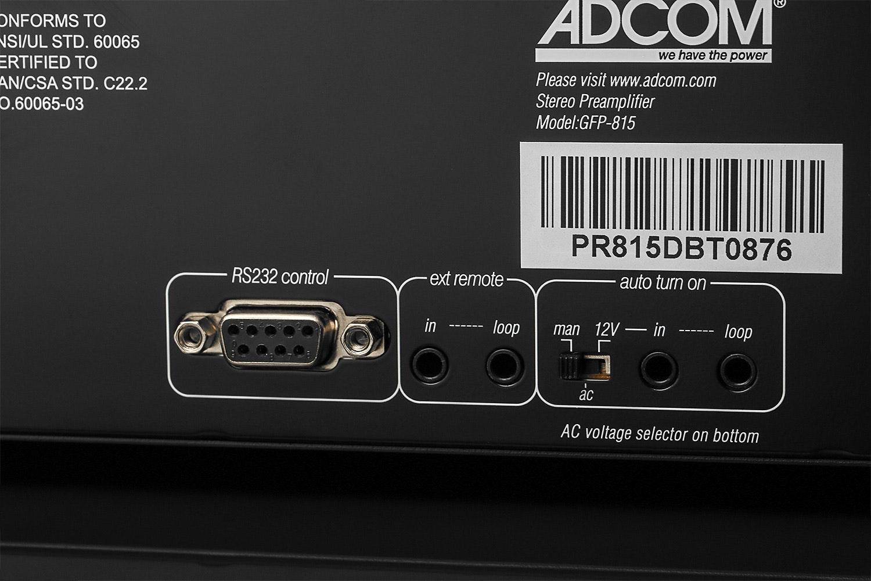 Adcom GFP-815 Stereo Preamplifier
