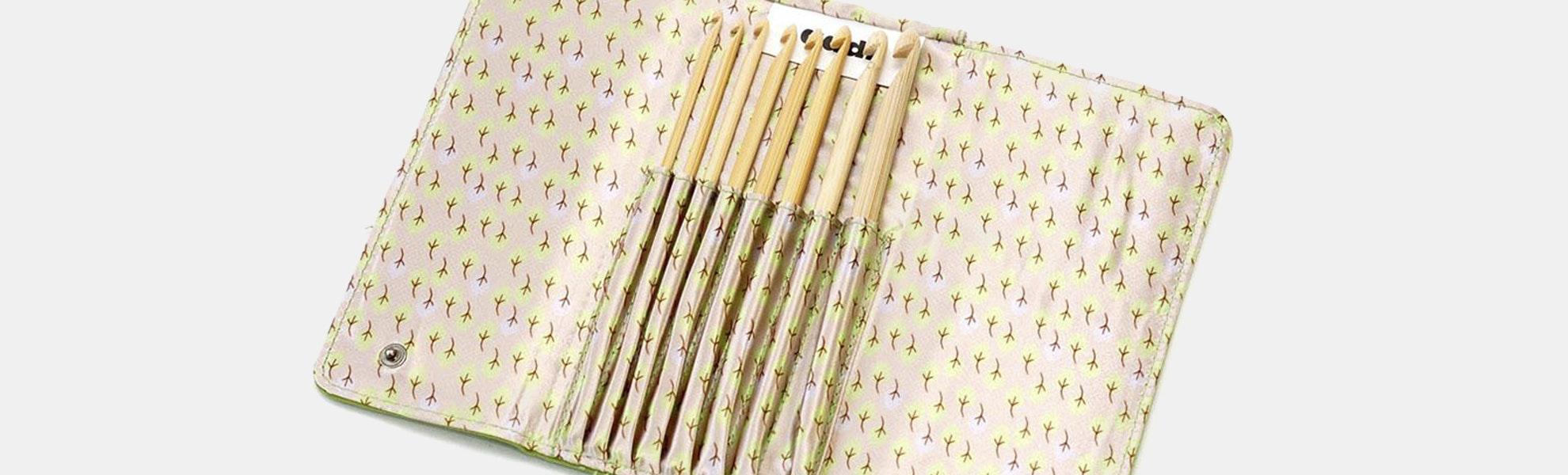 Addi Click Bamboo Crochet Hooks (Set of 540)