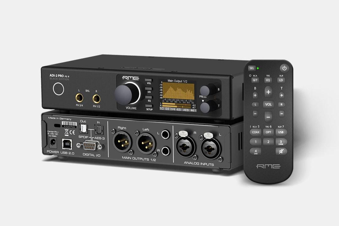RME ADI-2 Pro FS R AD/DA Converter (Black Edition)