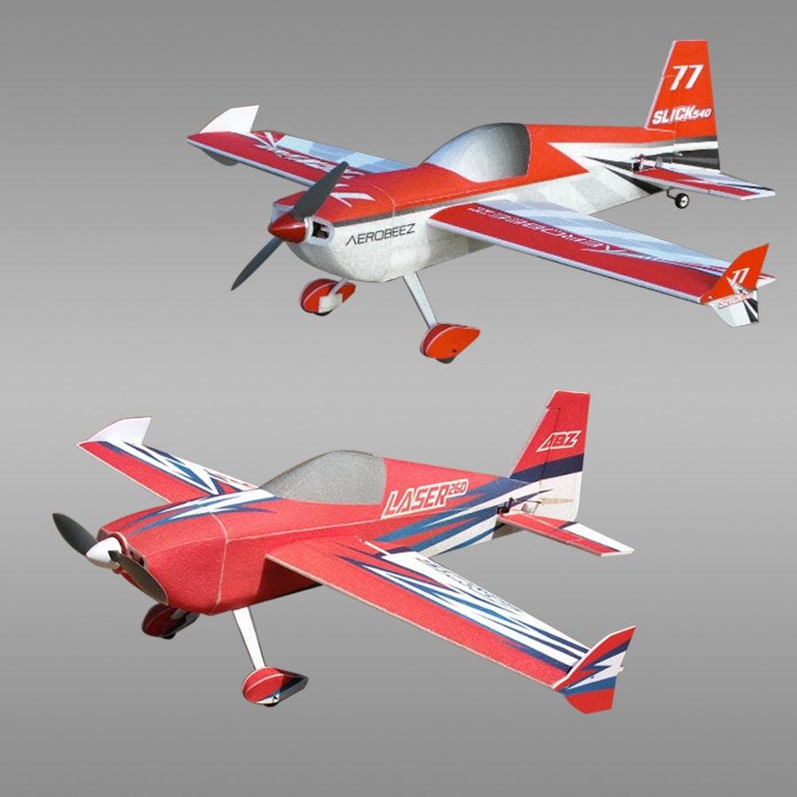 "AeroBeez 38"" EPP Lazer 260 or Slick 540 ARF"