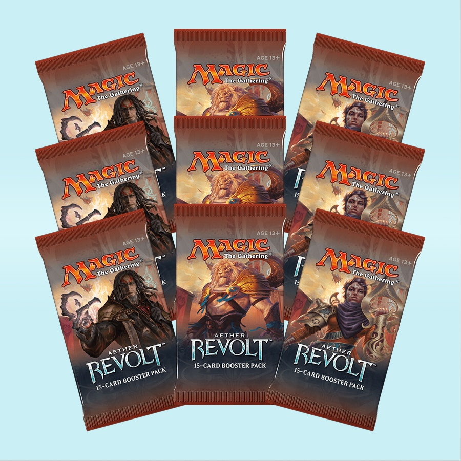 Aether Revolt Foreign Booster (9-Pack)