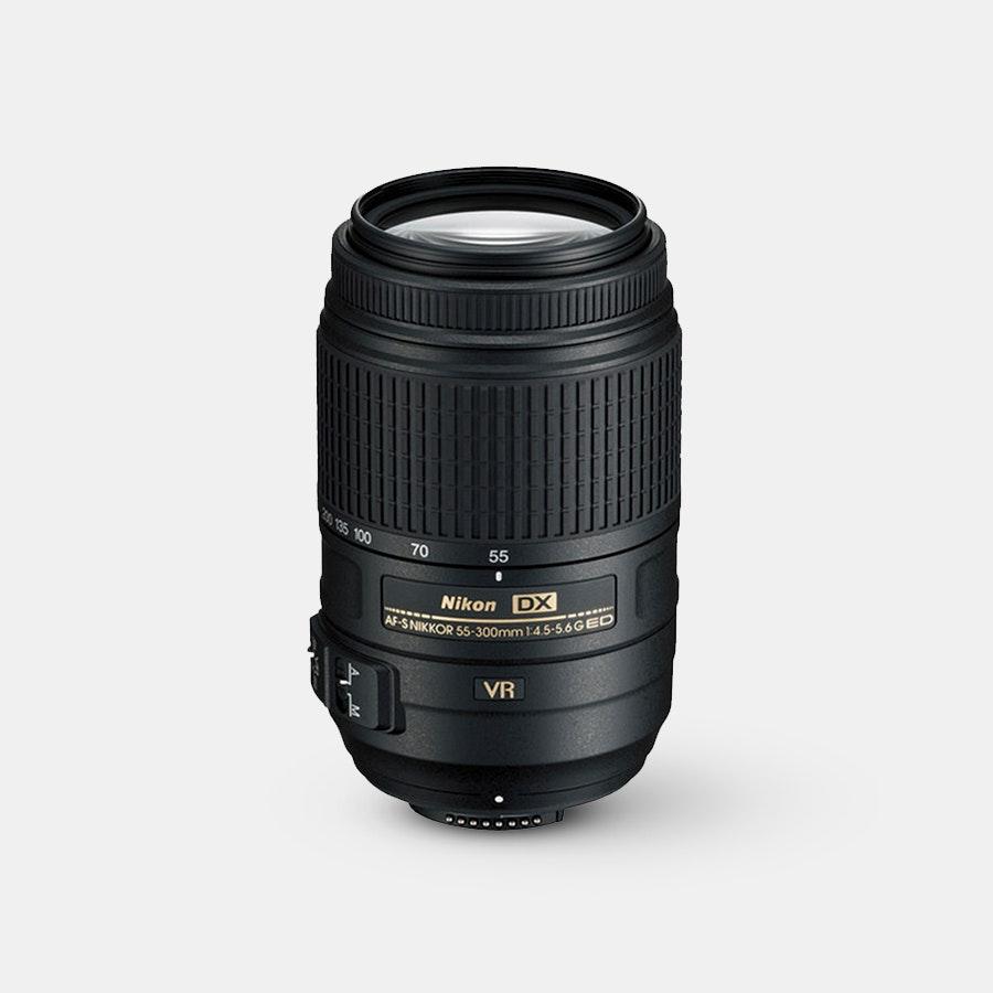 Nikon AF-S DX Nikkor 55–300mm f/4.5–5.6G ED VR Lens