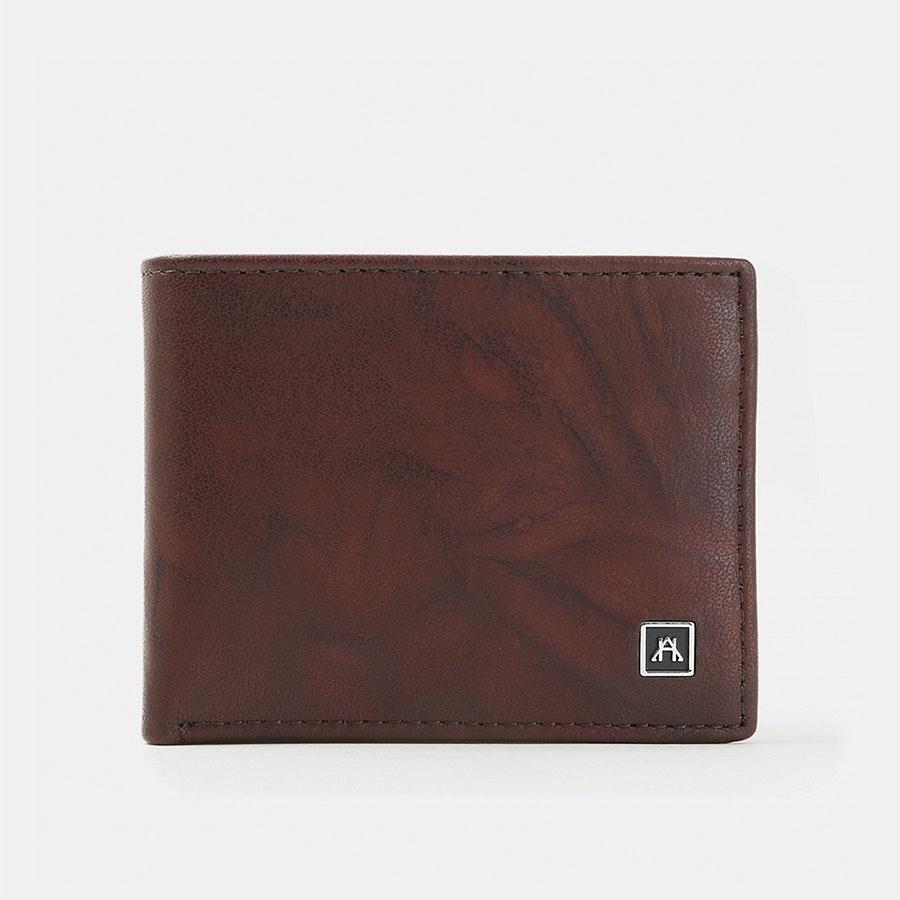 A&H Leather Goods Full-Grain Billfold Wallets