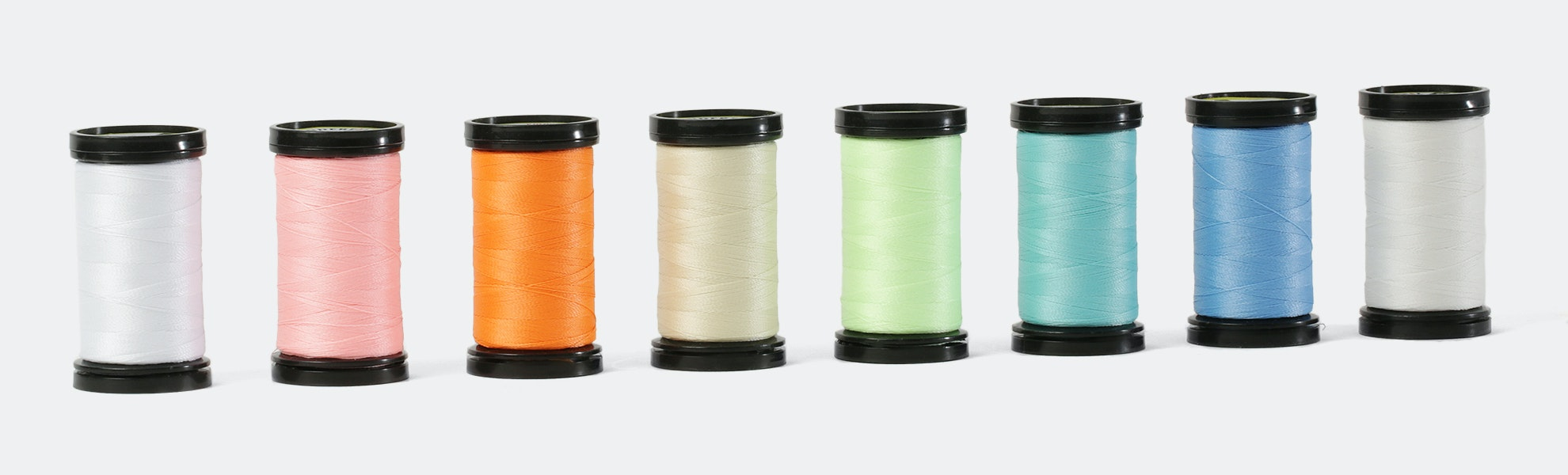 Ahrora Glow-in-the Dark Thread (8-Pack)