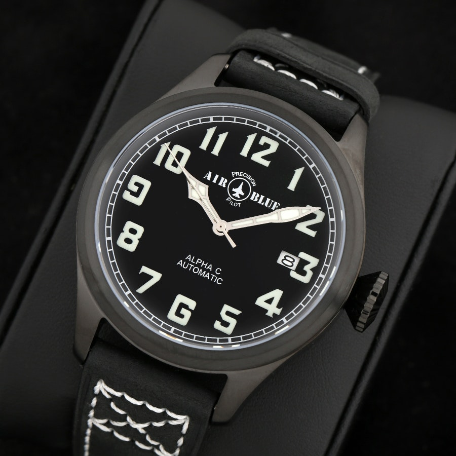 Air Blue Alpha Watch