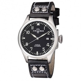 Charlie Automatic Stainless Steel Black