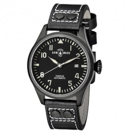Charlie Automatic PVD Black/White